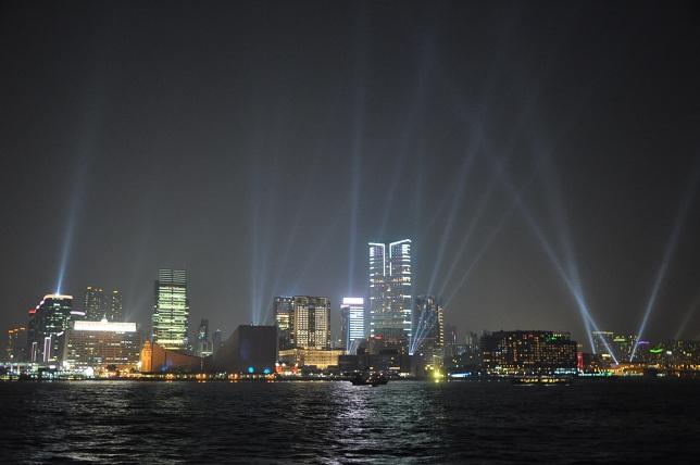 лазерное шоу гонконг