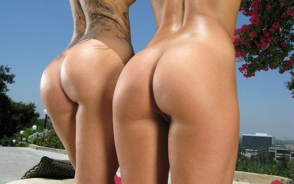 Попы девушек голые фото