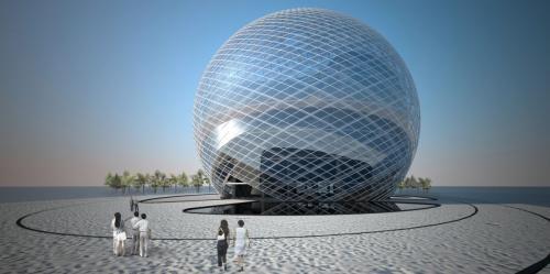 Техносфера в Абу-Даби будет получать солнечную энергию