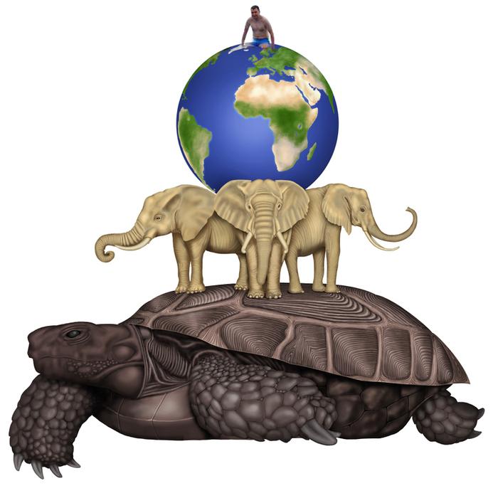 Вас подобные теория возникновения земли слоны черепахи счетам