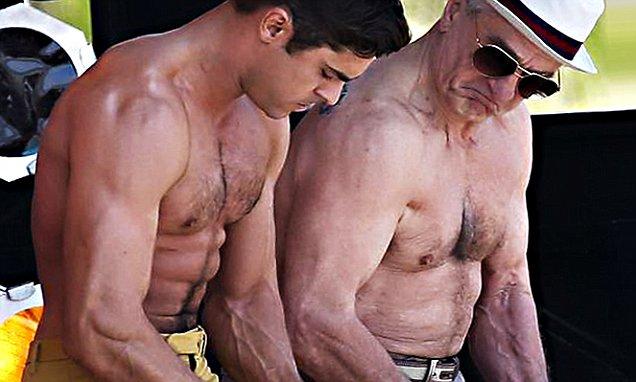 Порно стариков с большими хуями 9