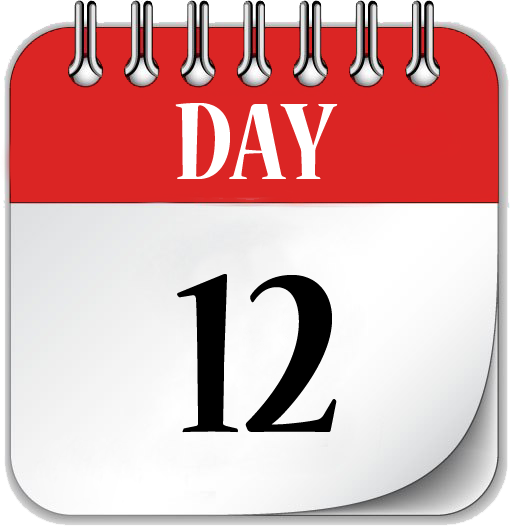 Image result for day 12